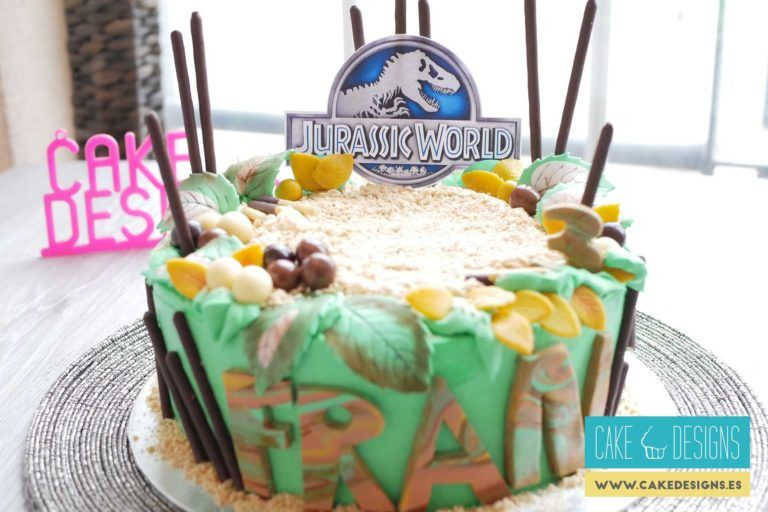 Tarta de Jurassic World